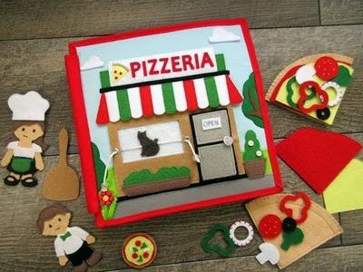 Pizzeria Quiet Book