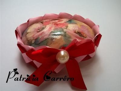 Sabonete decorado para o dia das mães.Soap decorated for mothers day