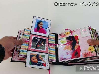 Scrapbook ideas || scrapbook for birthday || scrapbook for boyfriend || someone special