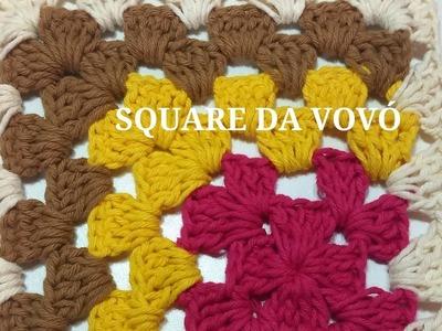 SQUARE DA VOVÓ (Quadradinhos Coloridos)