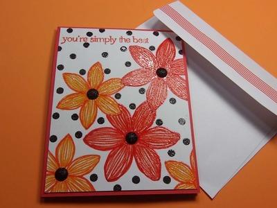 Card Pop Up Karte Basteln Mit Papier Herz Geburtstag