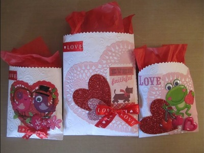 Tags, Bags, Boxes, & Bows Series #3~ Simple Treat Bags