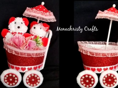 DIY Easy Cycle Craft | Valentine's day gift | Best out of waste