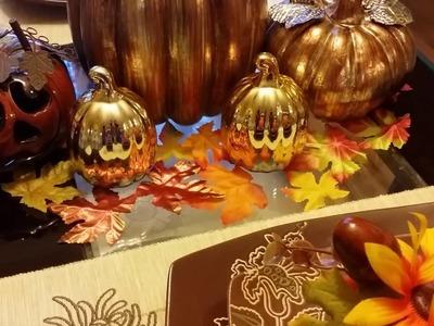 Fall.Halloween Home Decor Tour 2016