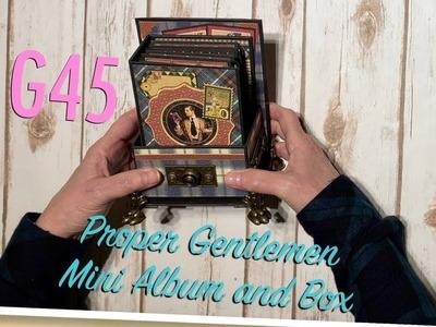 G45 Proper Gentlemen Mini Album and Box