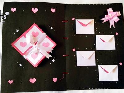 Gift Card | Scrapbook ???? | Handmade | S Crafts | Gift for best friend | BFF | Handmade gift ideas