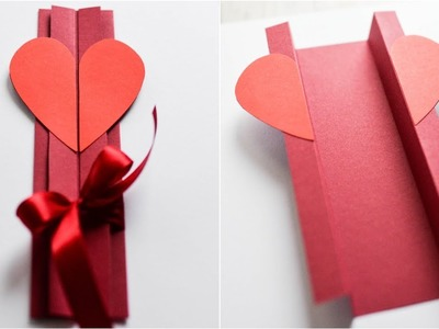 How to make : Greeting Card for Valentine's Day | Kartka Walentynkowa - Mishellka #319 DIY