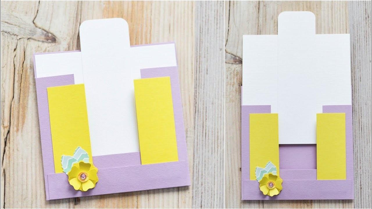 How to make : Greeting Card with an Envelope | Kartka Okolicznościowa z Kopertą - Mishellka #324 DIY