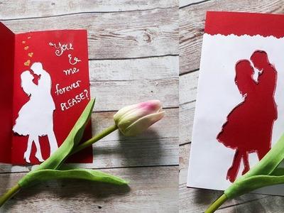 LAST MINUTE VALENTINES DAY CARD IDEAS | diy gifts for boyfriend |valentinesday card ideas