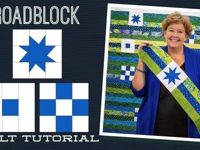"Make a ""Roadblock"" Quilt with Jenny Doan of Missouri Star (Video Tutorial)"