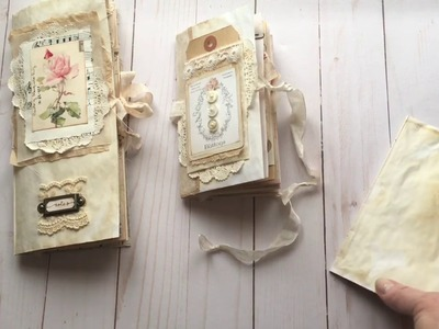"Making an envelope junk journal -""how to"""