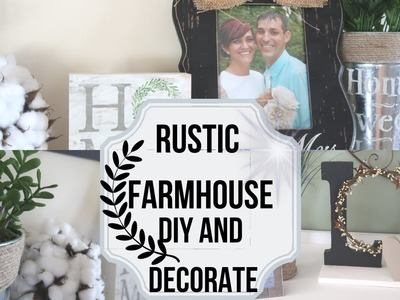 Rustic Farmhouse Decor and DIY | Deer Antler DIY | Decorate with Me | Aieve Rustic Farmhouse Arrows