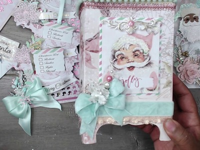 SHABBY CHIC MAILBOX AND SHAPED CHRISTMAS TAGS | CREATED TO CREATE