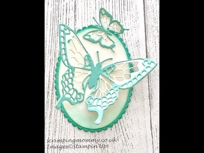 Stampin' Up! Butterfly Beauty statement piece, chat and tips