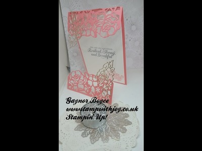 Strong & Beautiful Card Stampin' Up!