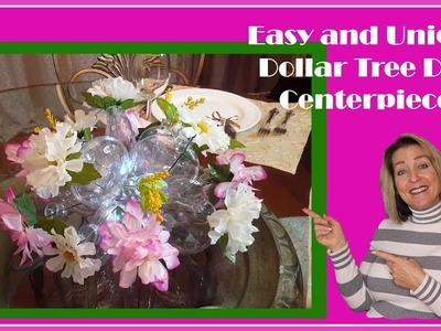 Unique and Affordable Dollar Tree DIY Centerpiece