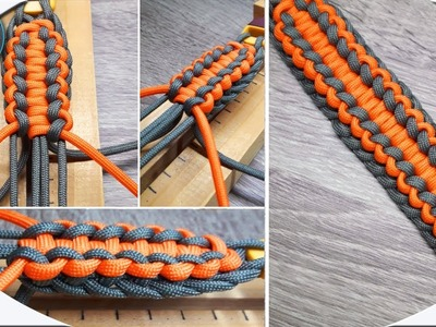 Unique How To Make Unique How To Make Paracord Bracelet Sand of Time DIY Paracord Tutorial Easy