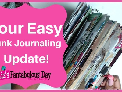 Your Easy Junk Journal Guide, Junk Journaling Process Writing, Journal Ideas,  Journal Decorating