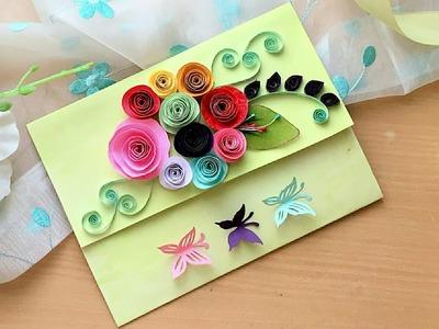 Beautiful Birthday.Valentine card tutorial   How to make: Birthday.Valentine card
