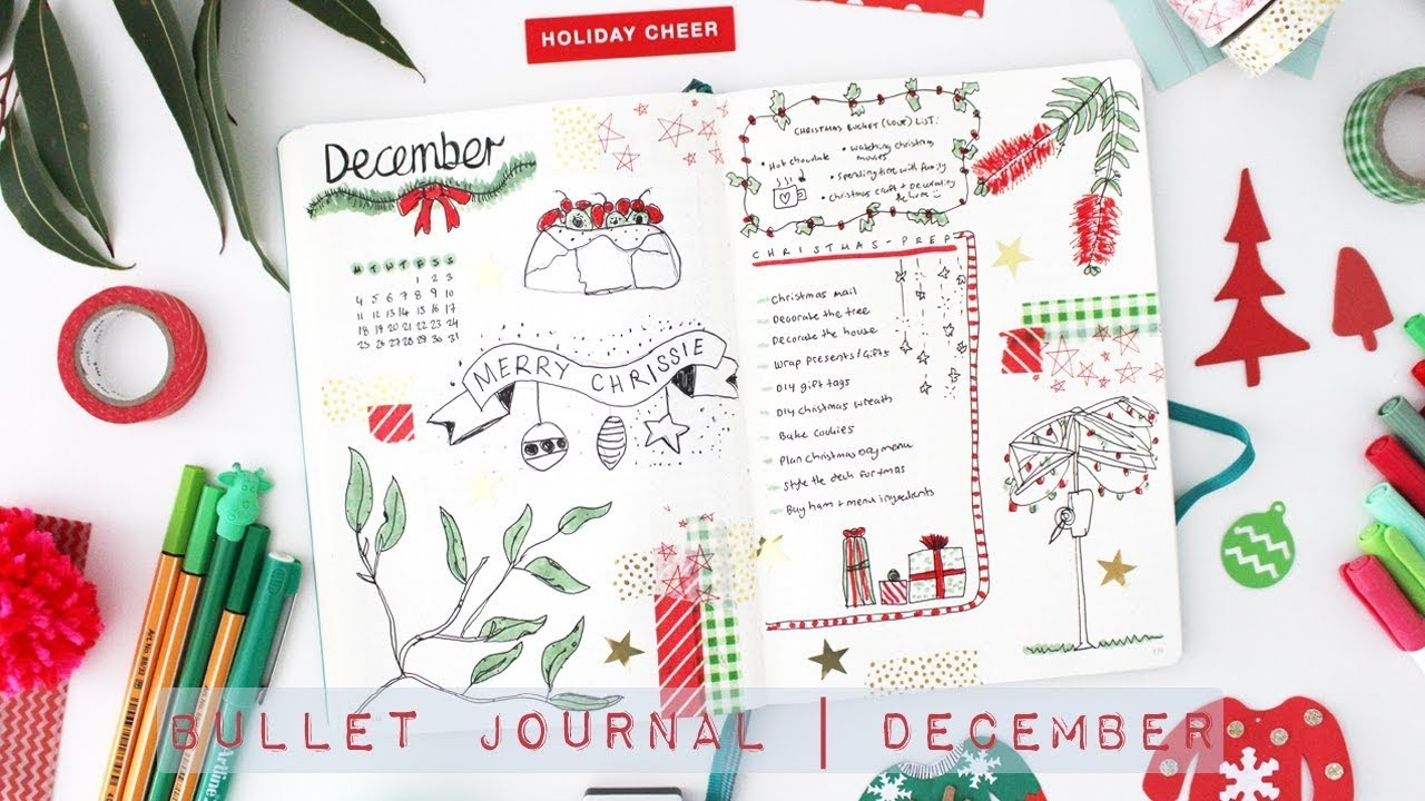 Bullet Journal | December Plan With Me