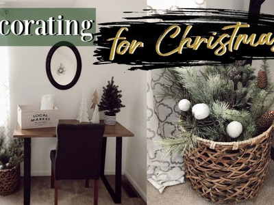 CHRISTMAS DECORATE WITH ME   GUEST BEDROOM   CHRISTMAS DECOR 2018