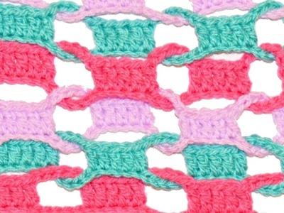 Crochet Interlock Shawl Scarf Tutorial - Crochet Jewel