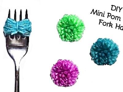 DIY How to make Mini Yarn Pom Poms - Crochet Jewel
