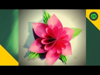 Diy paper crafts.origami easy paper flower paper craft ideas