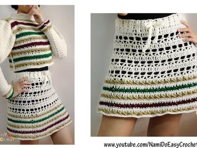 Easy Crochet: Crochet Skirt #01
