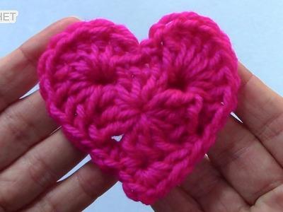 Granny Style Heart - Crochet Quick Fix