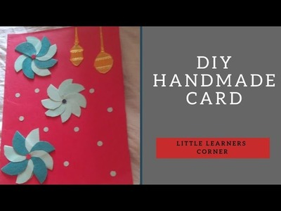 Greeting card || Card for Best Wishes by Little Learners Corner