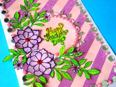 Greeting cards for teachers day Easy | Teachers day card making | latest designs simple handmade !