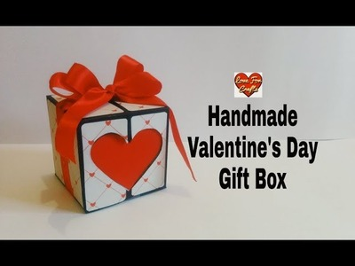 Handmade Valentine's Day Gift Box   Valentine's Day Gift Idea
