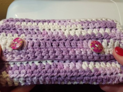 How to Crochet a notions case