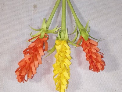 How to make handmade flower by paper. diy paper crafts
