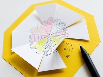 How to make : Valentine's Day Card Memo Note | Kartka Walentynkowa - Mishellka #331 DIY