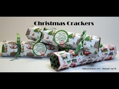 No.446 - Christmas Crackers - JanB UK #7 Top Stampin' Up! Independent Demonstrator