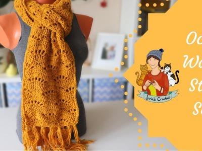 Ocean Waves Stitch Crochet Tutorial