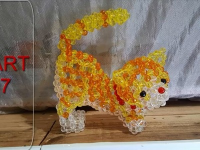 Part 07 - Tail - How to make beaded Cat -the end
