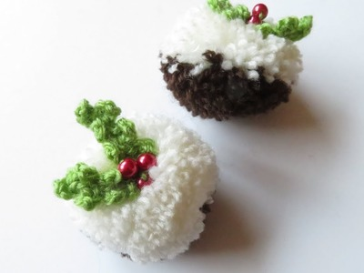 Pom Pom Christmas Pudding