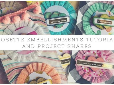 Rosette Embellishment's Tutorial and Project Share's