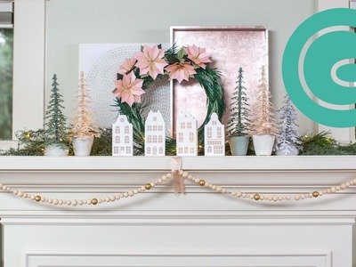 Three Ways to Style Your Mantel for Christmas and other Winter Holidays
