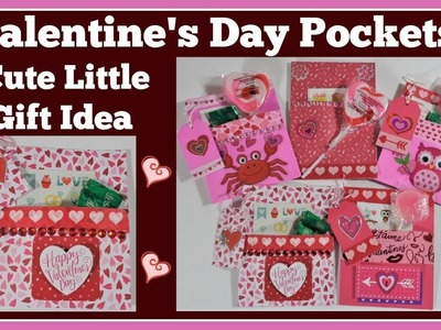 Valentine's Day Pockets ???? Fun and Easy Diy
