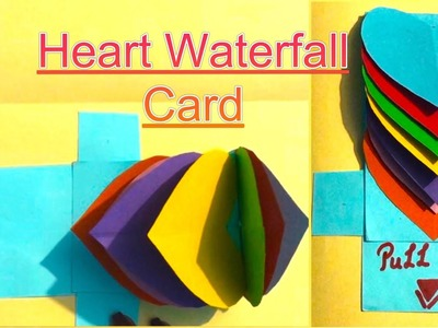 Valentine's day special card - handmade card for him.her - handmade gift idea-heart shape gifts