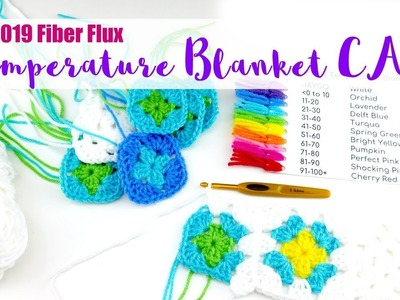 2019 Temperature Blanket CAL Part 2-Making The Squares & Joining