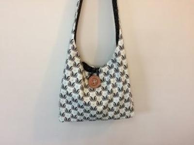 Crossbody Boho Bag (Reversible) DIY