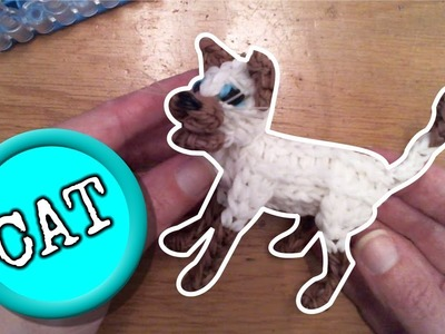 DIY Rainbow Loom cat Part 1.2 Loombicious