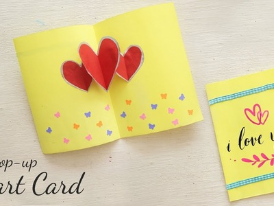 DIY Valentine Gift | Pop - Up heart Card | DIY Cards