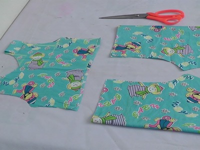 HOW TO SEW KIDS BOY.GIRL BABY COTTON BLOMMER IN A EASY METHOD PART-1