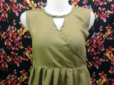 How to sewing a simple blouse model (42)
